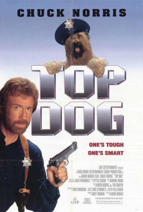 poster promocional de la película top dog