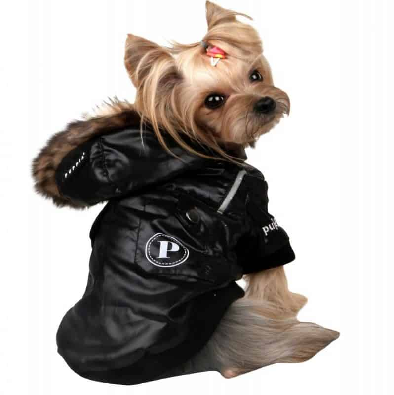 abrigos acolchado para otoño e invierno para perros