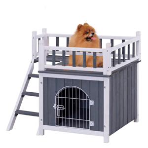 Venta de casetas de madera y plástico de exterior e interior, baratas y de lujo para perros gigantes, grandes, medianos y pequeños