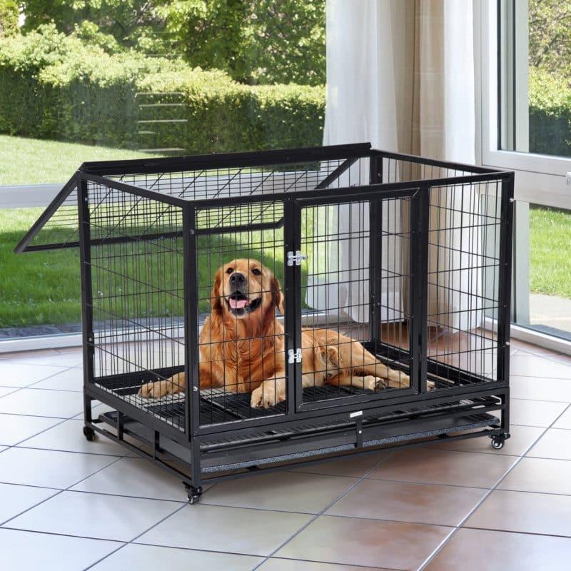 qué son las jaulas para perros