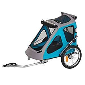 remolque y carrito para perros de bicicleta