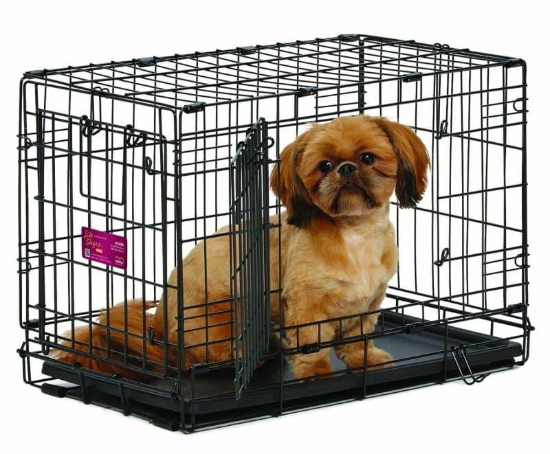 transportines para perros de metal