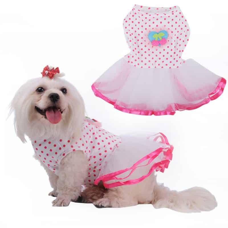 vestidos estilos princesas con tutus para perros