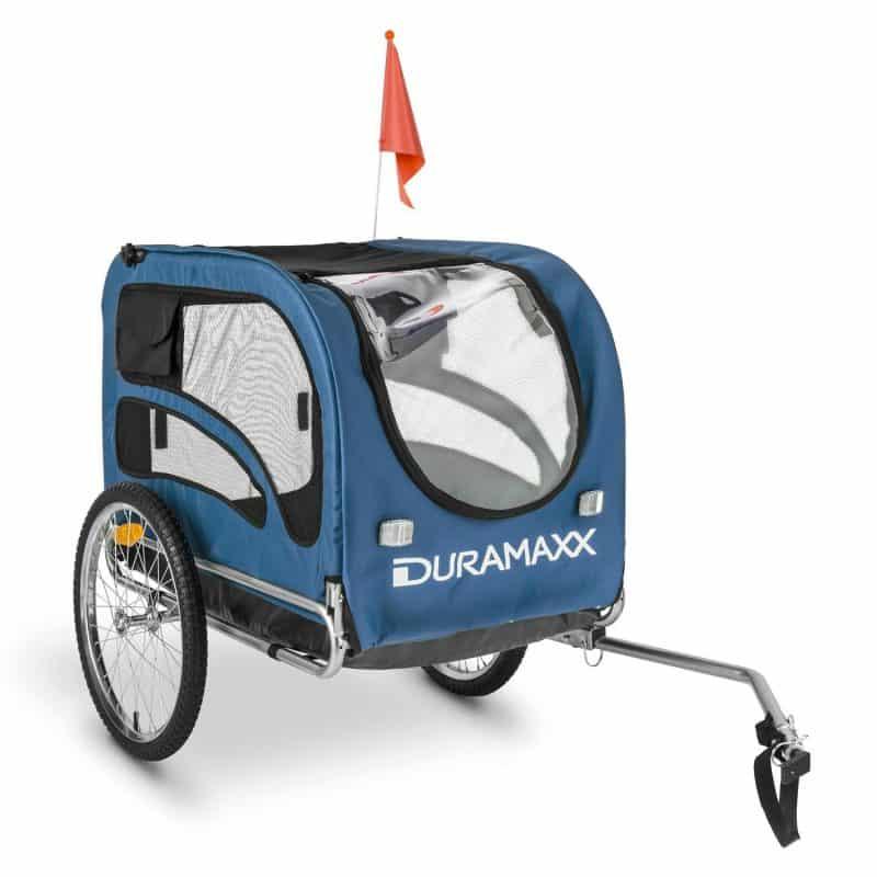 remolque para bicicletas para transportar perros duramaxx